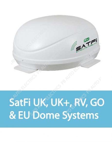 SatFi UK, UK+, RV, GO & EU Dome Systems