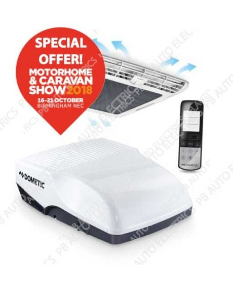 Dometic Freshjet 2200 Roof Air Conditioner for vehicles up to 7m includes diffuser and remote‎ – 9105306515