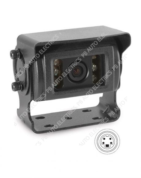 Brigade Elite BE-800C Rear View WDR Heated Camera (1623)