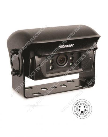 Brigade Elite BE-810C Heated Rear View WDR Shutter Camera (1242)