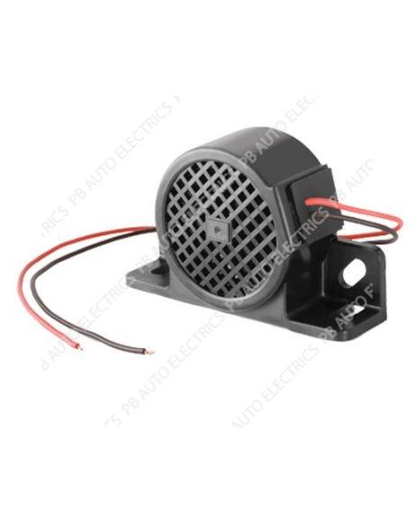 Brigade White Sound BBS-87 BBS TEK Standard Reversing Alarm 12/24 Volts – 87 Decibels (0897B)