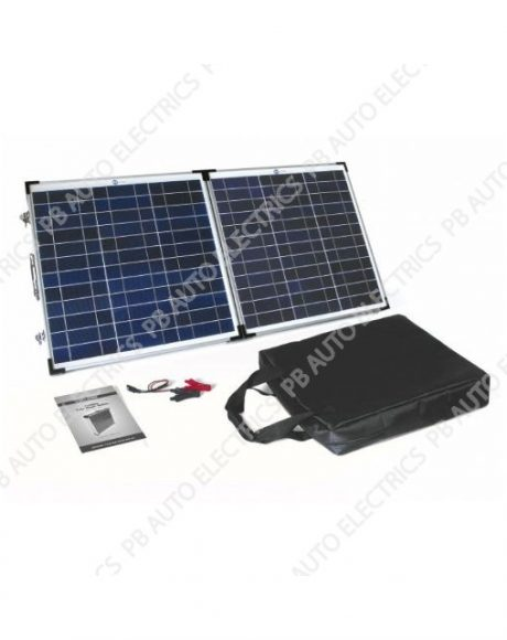 60 Watt PV Logic Folding Solar Panel Briefcase - STFP60