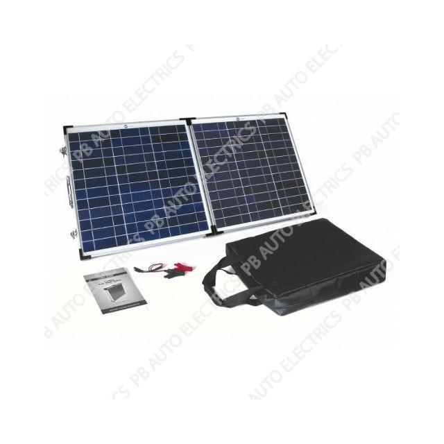60 Watt PV Logic Folding Solar Panel Briefcase - STFP60