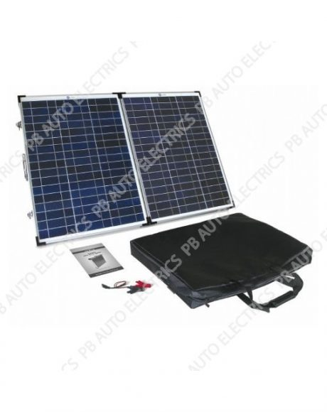 90 Watt PV Logic Folding Solar Panel Briefcase - STFP90