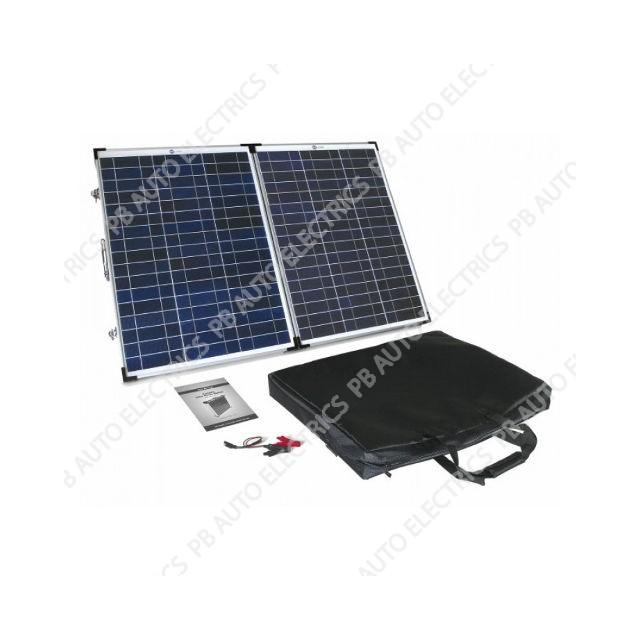 90 Watt PV Logic Folding Solar Panel Briefcase - STFP90