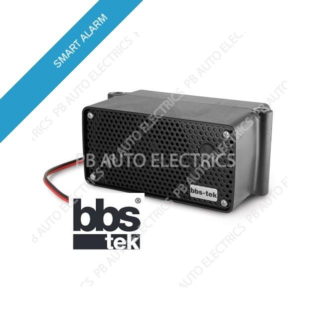 Brigade White Sound SA-BBS-107 HD SMART (Self Adjusting) Reversing Warning Alarm 12/24 volts – 87-107 Decibels (A1400)Alarm