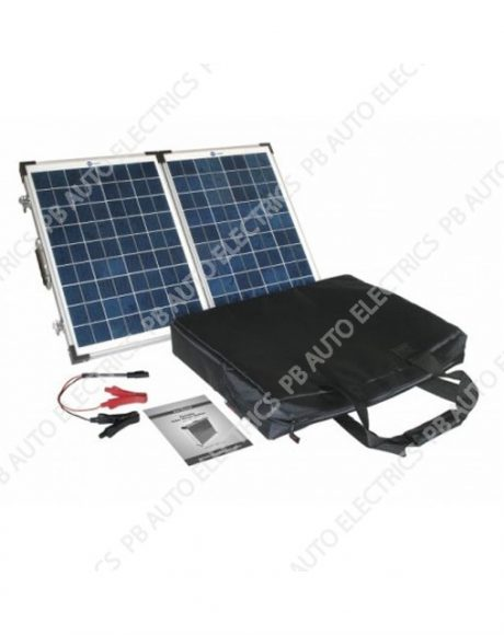 40 Watt PV Logic Folding Solar Panel Briefcase -