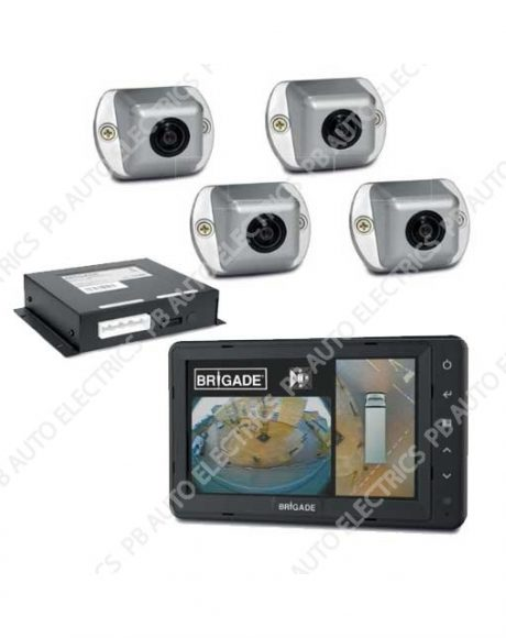 Brigade SE 770 100 Backeye 360 Camera Monitor System For Large Rigid Vehicles SE 770 100 4804 460x580 brigade smarteye 360 camera systems pb auto electrics commercial brigade camera wiring diagram at creativeand.co