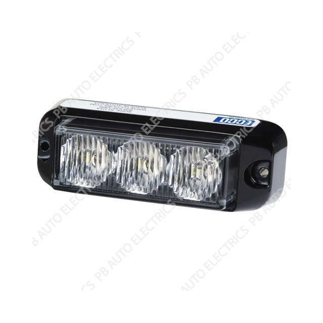 Vision Alert Directional Surface Mount Amber LED Strobe Light TWIN PACK 3736A