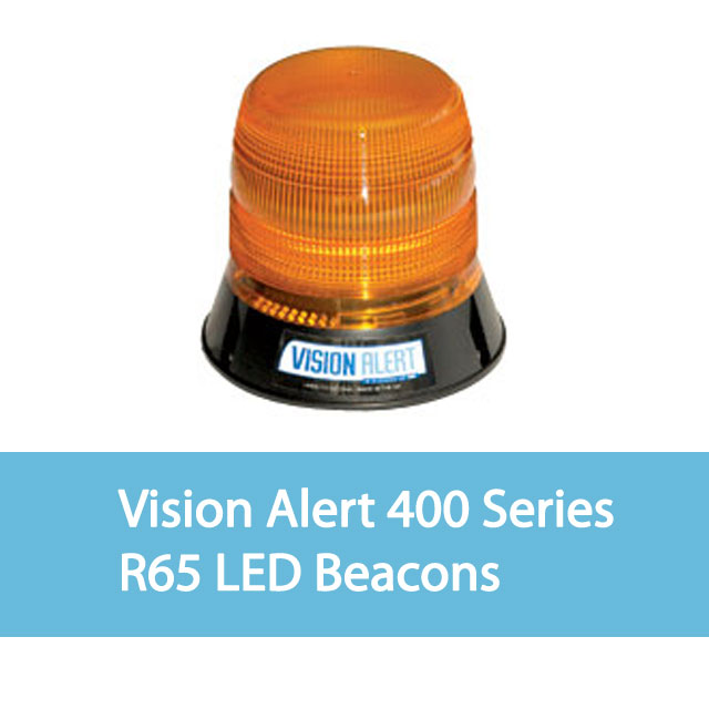Vision Alert 400 Series R65 LED Beacons