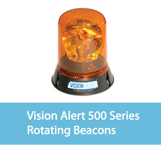 Vision Alert Rotating Beacons 500 Series