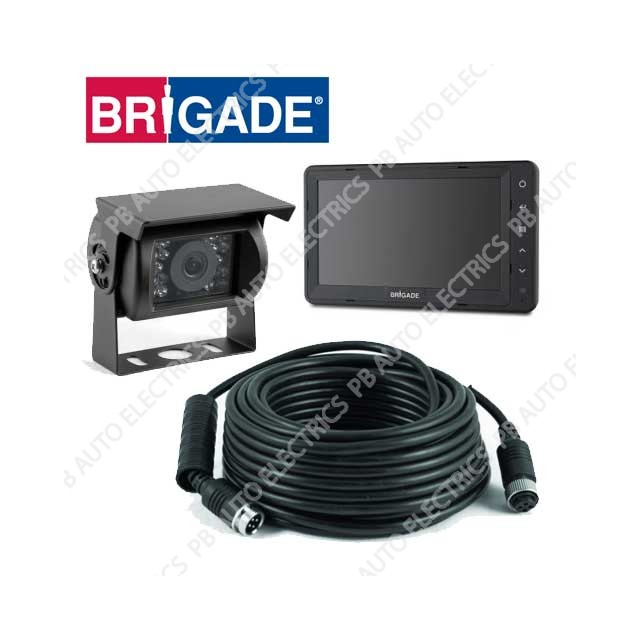 Brigade Select Camera Monitor System For Rigid Vehicles – VBV-750-000 (4705)