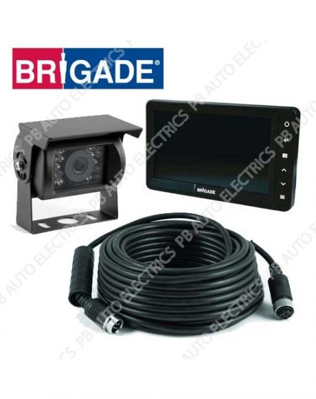 Brigade Single Select Camera Monitor System – VBV-770-000 (4692)