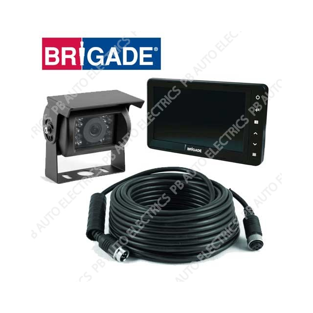 Brigade Single Select Camera Monitor System – VBV-770-000 (4692)