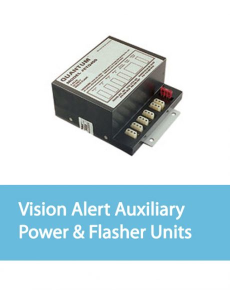 Vision Alert Auxiliary Power Supply & Flasher Units