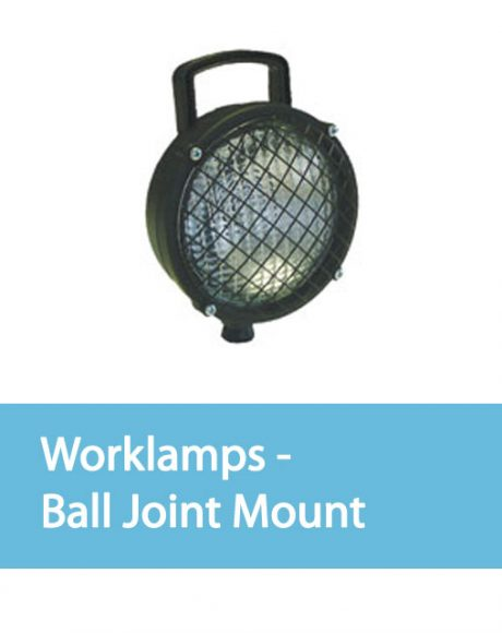 Vision Alert Auxiliary Lighting Worklamps - Ball Joint Mount
