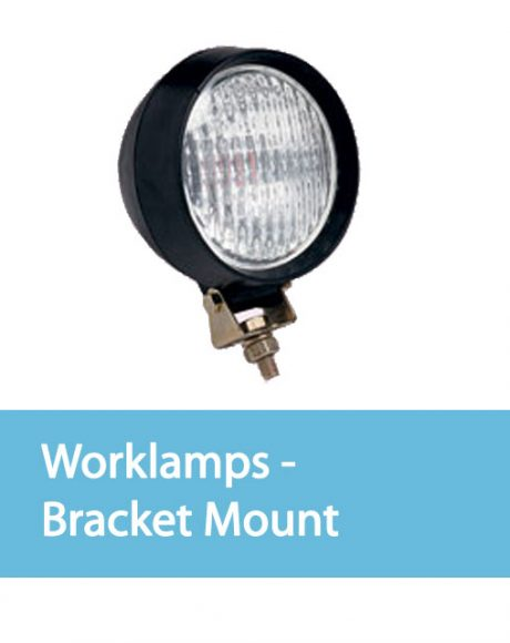 Vision Alert Auxiliary Lighting Worklamps - Bracket Mount