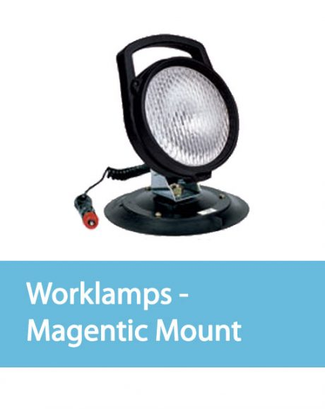 Vision Alert Auxiliary Lighting Worklamps - Magnetic Mount