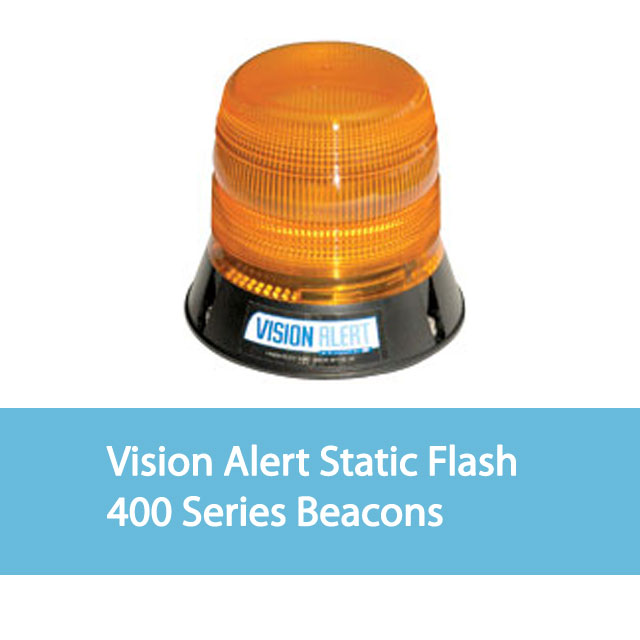 Vision Alert Static Flash Beacons 400 Series