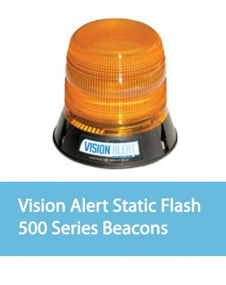 Vision Alert Static Flash Beacons 500 Series