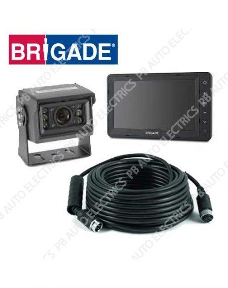 Brigade Essential Camera Monitor System For Rigid Vehicles – VBV-650-000 (4765A)