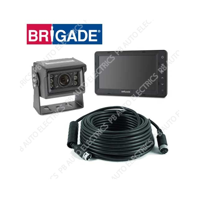 Brigade Essential Camera Monitor System For Rigid Vehicles – VBV-650-000 (4765A)