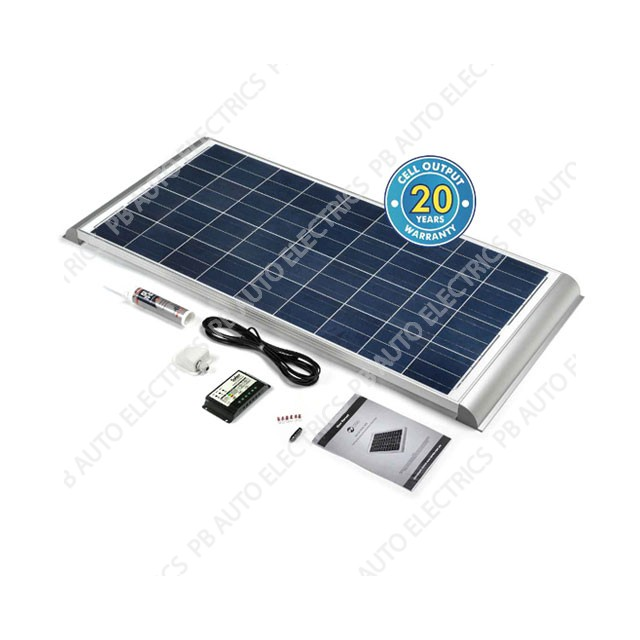 Solar Technology 120 Watt Solar Panel AERO Roof Top Kit For Motorhomes Caravans Boats – STPMH120AE