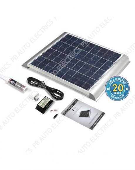 Solar Technology 60 Watt Solar Panel AERO Roof Top Kit For Motorhomes Caravans Boats – STPMH60AE