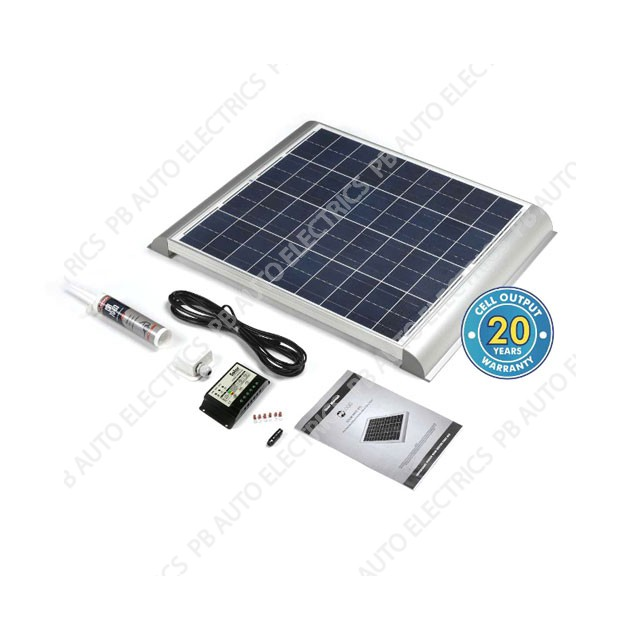 Solar Technology 60 Watt Solar Panel AERO Roof Top Kit For Motorhomes Caravans Boats – STPMH60AE