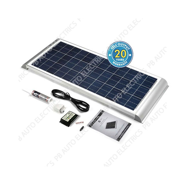 Solar Technology 80 Watt Solar Panel AERO Roof Top Kit For Motorhomes Caravans Boats – STMPH80AE