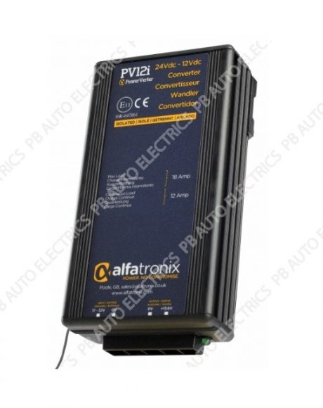 PowerVerter 24Vdc to 12Vdc Voltage Converters