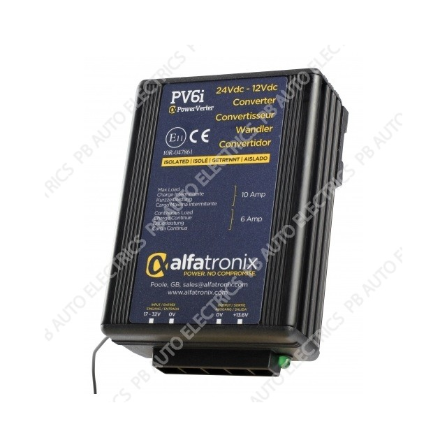 PowerVerter 24Vdc to 12Vdc Voltage Converters