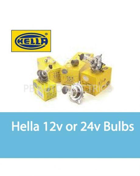 Hella 12v and 24v Bulbs
