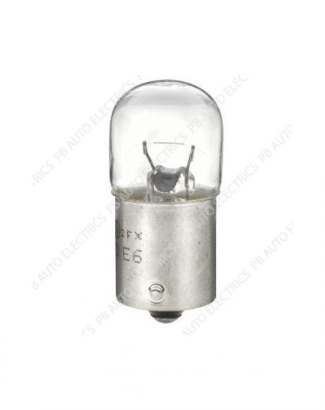 Hella BA15S 12V R5W Bulbs Side Brake Number Plate Light (per pack of 10) - HB207