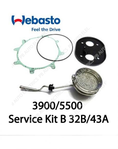 Webasto Air Top Evo 3900/5500 Heater Service Kit B 32B/43A – 1313132B/1322643A