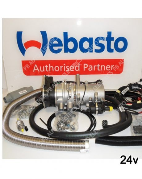 Webasto Thermo Pro 90 Diesel 24v Water Heater Includes Universal Fitting Kit – 9023076C/9024621A
