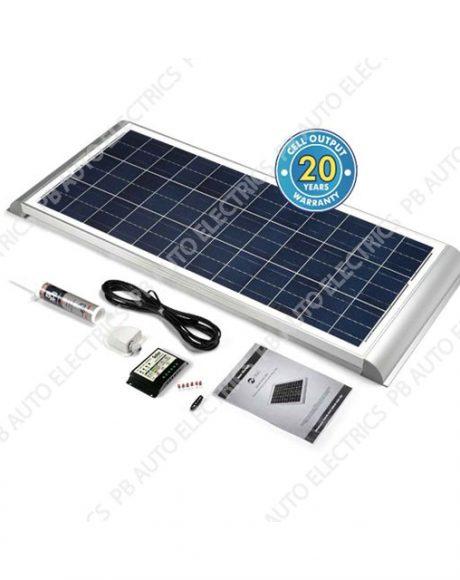 Solar Technology 100 Watt Solar Panel AERO Roof Top Kit For Motorhomes Caravans Boats - STPMH100AE