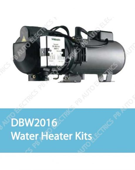 Webasto DBW 2016 Water Heater Kits