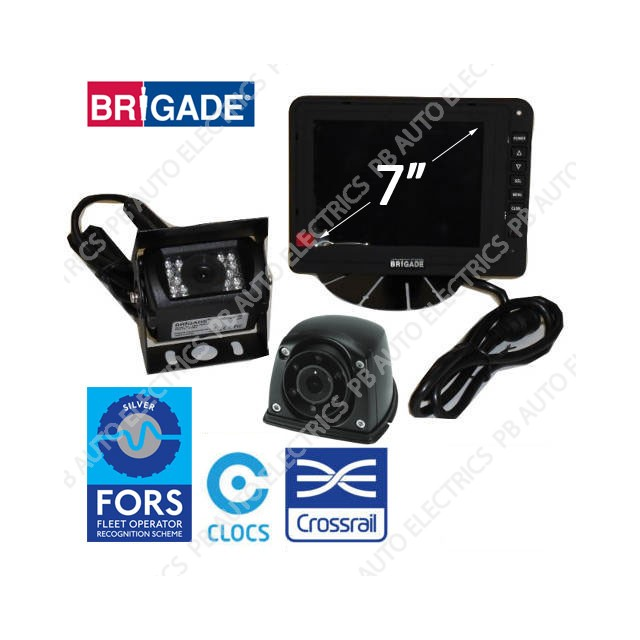 Brigade FORS Silver 7 inch Kit