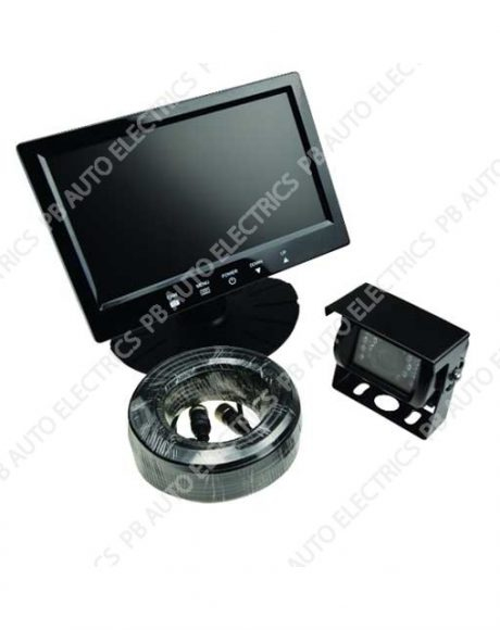 "PB 7"" Colour Camera System Kit For Rigid & Articulated Vehicles 9-36v - TES-RVS7001"