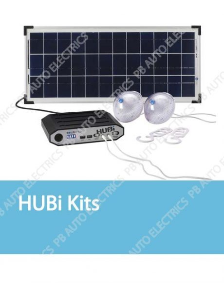 HUBi Solar Lighting & Power Kits