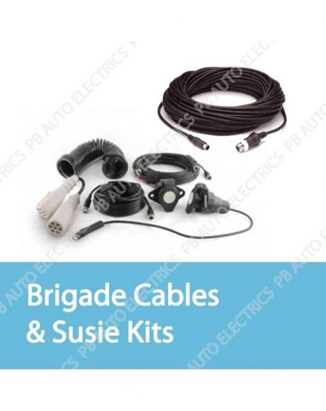 brigade camera cables and susie kits 460x580 brigade reversing & vehicle safety pb auto electrics commercial brigade camera wiring diagram at creativeand.co