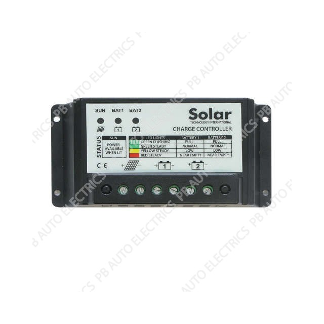10A Dual Battery Charge Controller - STCC10