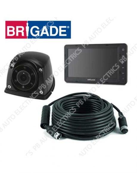 Brigade Single Flush Mount Select Camera Monitor System For Vans - VBV-750-310 (4780)