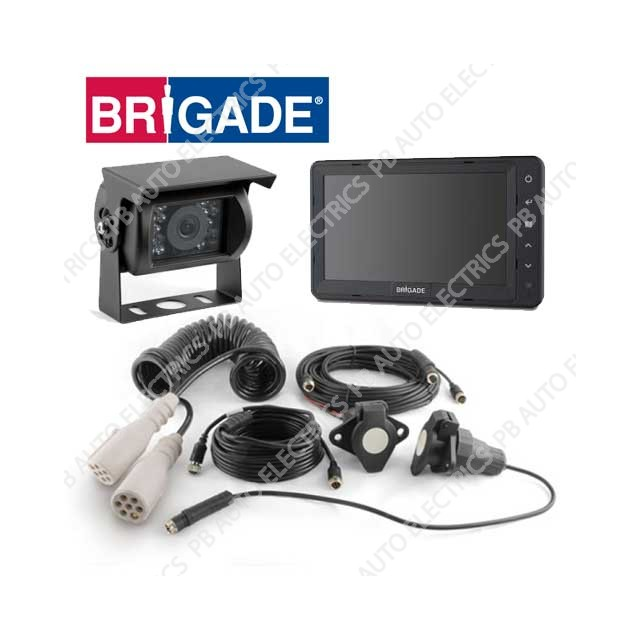 Brigade Single Select Camera Monitor System For Articulated Vehicles – VBV-770-001 (4767)