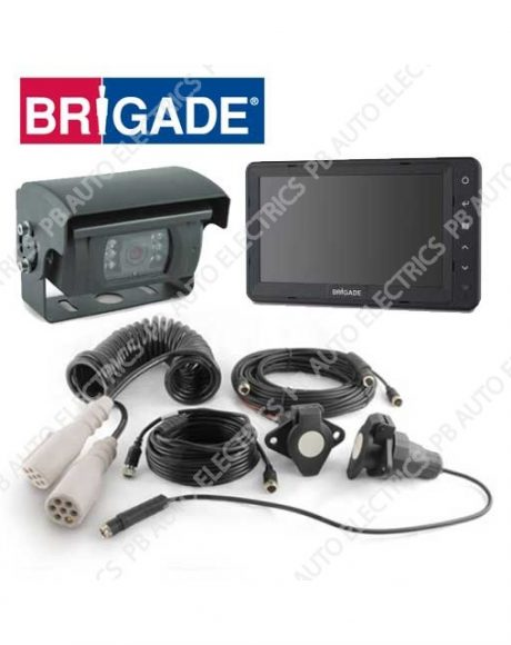 Brigade Single Shutter Select Camera Monitor System For Articulated Vehicles – VBV-770-101 (4772)