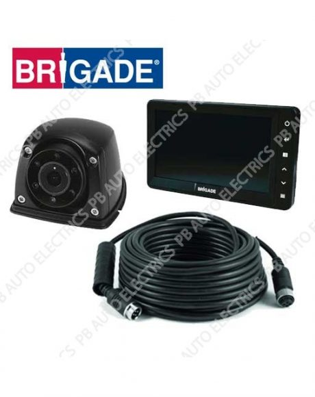 Brigade Single Flush Mount Select Camera Monitor System For Vans – VBV-770-310 (4781)