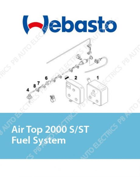 Webasto Air Top 2000 S/ST/STC Fuel System