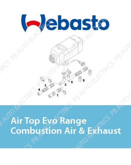 Webasto Air Top Evo Range Combustion Air & Exhaust