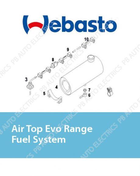 Webasto Air Top Evo Range Fuel System